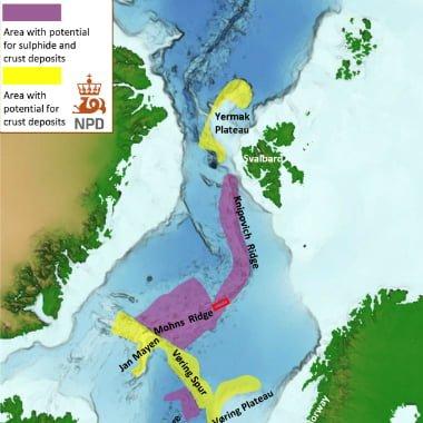 The Norwegian Petroleum Directorate has found new deep-sea mineral deposits